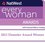 "Our Director, Elly Pittaway, is the ""Natwest Everywomans Young Business Woman of the Year 2011"""