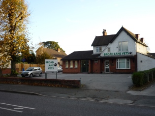 Broad Lane Vets Coventry